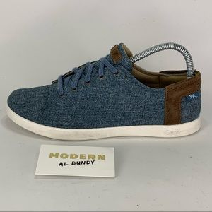 Chaco Ionia Denim Lace Casual Sneakers Womens 8.5